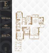 阳光城・尚东湾4室2厅3卫147平方米户型图