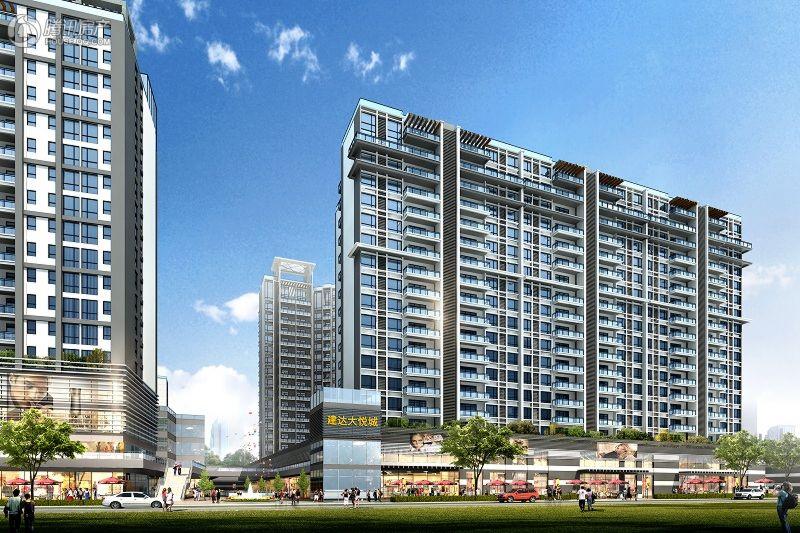 建达大悦城项目住宅效果图