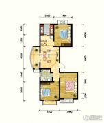 鼎旺90社区3室2厅1卫113平方米户型图