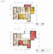 保利凤凰湾4室3厅4卫0平方米户型图