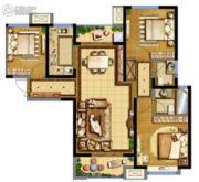 德杰・德裕天下3室2厅2卫114平方米户型图