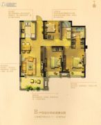 湖滨名都・观樾3室2厅2卫107平方米户型图