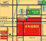 江南一品 别墅交通图