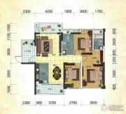 冠亚・国际星城2室2厅2卫108平方米户型图