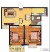 春晓・金水湾2室2厅1卫0平方米户型图