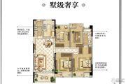 中天铭廷3室2厅2卫125平方米户型图