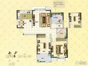 凤凰美地3室2厅1卫98平方米户型图