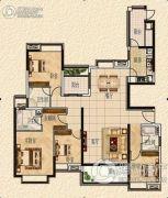 清远奥园4室2厅3卫0平方米户型图