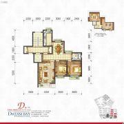 丽汤・首山梦之湾3室2厅1卫102平方米户型图