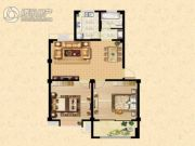 西盛园2室1厅1卫0平方米户型图