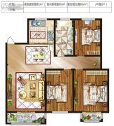 格瑞斯小镇3室2厅1卫0平方米户型图
