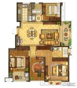 银城一方山4室2厅2卫115平方米户型图