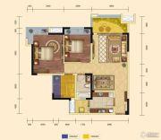 锦汇城3室2厅1卫88平方米户型图