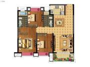 福安中梁壹号院3室2厅2卫108平方米户型图