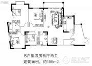 住那里4室2厅2卫0平方米户型图