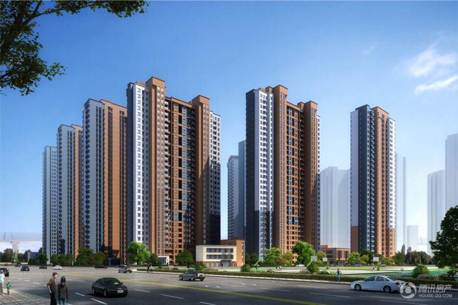 泰宏建业国际城A6-01地块效果图