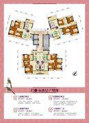 金帝世纪城86--123平方米户型图