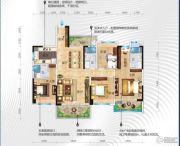 碧桂园・十里江湾4室2厅3卫168平方米户型图