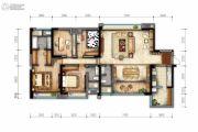 戛纳湾金棕榈4室2厅2卫180平方米户型图