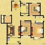 国华御翠园2室2厅1卫116--117平方米户型图