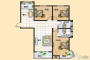 富景国际3室2厅2卫137平方米户型图