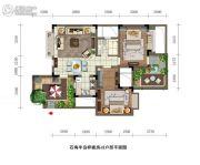 石梅半岛2室2厅1卫76平方米户型图