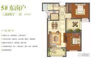 班芙春天3室2厅1卫93平方米户型图