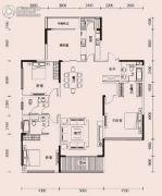 恩瑞御西湖3室2厅3卫210平方米户型图