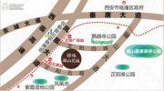 绿地・骊山花城交通图