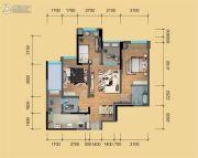 鹭洲国际二期3室2厅2卫92--97平方米户型图