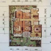 金地锦城4室2厅2卫162平方米户型图
