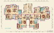 兴润・秋语台3室2厅2卫117平方米户型图