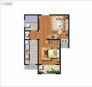 帕克公馆1室1厅1卫52平方米户型图