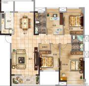 太一格4室2厅2卫137--138平方米户型图