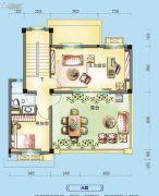 碧桂园假日半岛5室2厅4卫250平方米户型图