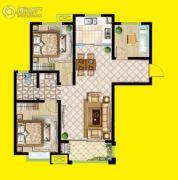 安泰・未来城3室2厅1卫106平方米户型图