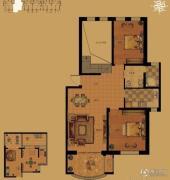 白鹭岛海屿墅2室2厅1卫0平方米户型图