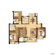 蓝光公园1号4室2厅2卫139平方米户型图