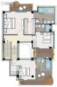 麓湖沉香谷3室0厅3卫0平方米户型图