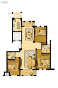 金地家园・公寓3室2厅2卫136平方米户型图