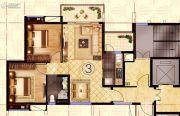 阳光城丽景湾2室2厅1卫82平方米户型图