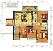 荟金亚太经贸中心2室1厅1卫0平方米户型图