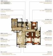 洛城中央御景3室2厅2卫138--142平方米户型图