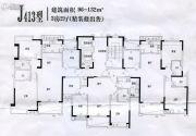 汕尾碧桂园96--132平方米户型图