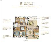 天地源金兰尚院5室2厅3卫226平方米户型图