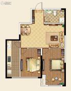 国际金融中心2室2厅1卫97--105平方米户型图