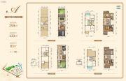 银泰红城五期逸墅259平方米户型图