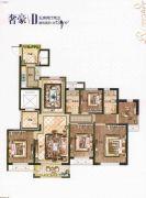 德信・铂瑞湾5室2厅2卫138平方米户型图