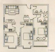 锦绣东城3室2厅1卫102平方米户型图