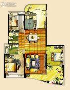 宝德时代华府3室2厅2卫160平方米户型图